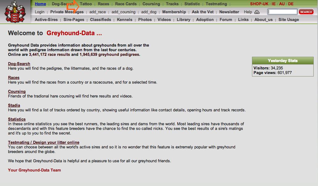 greyhound data